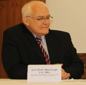 prof. MUDr. Milan KVapil, MBA